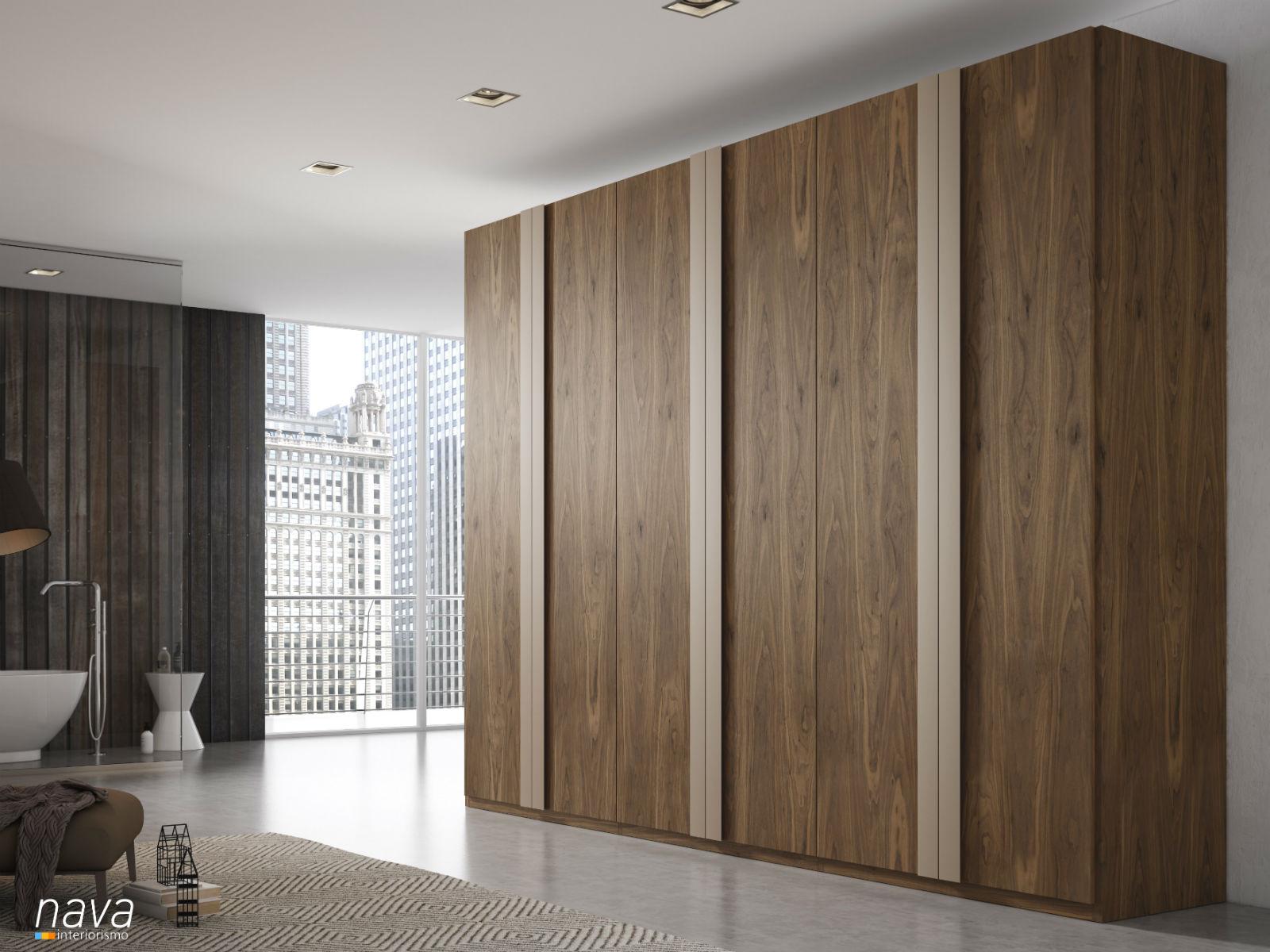 armario-puerta-madera-tirador-laca