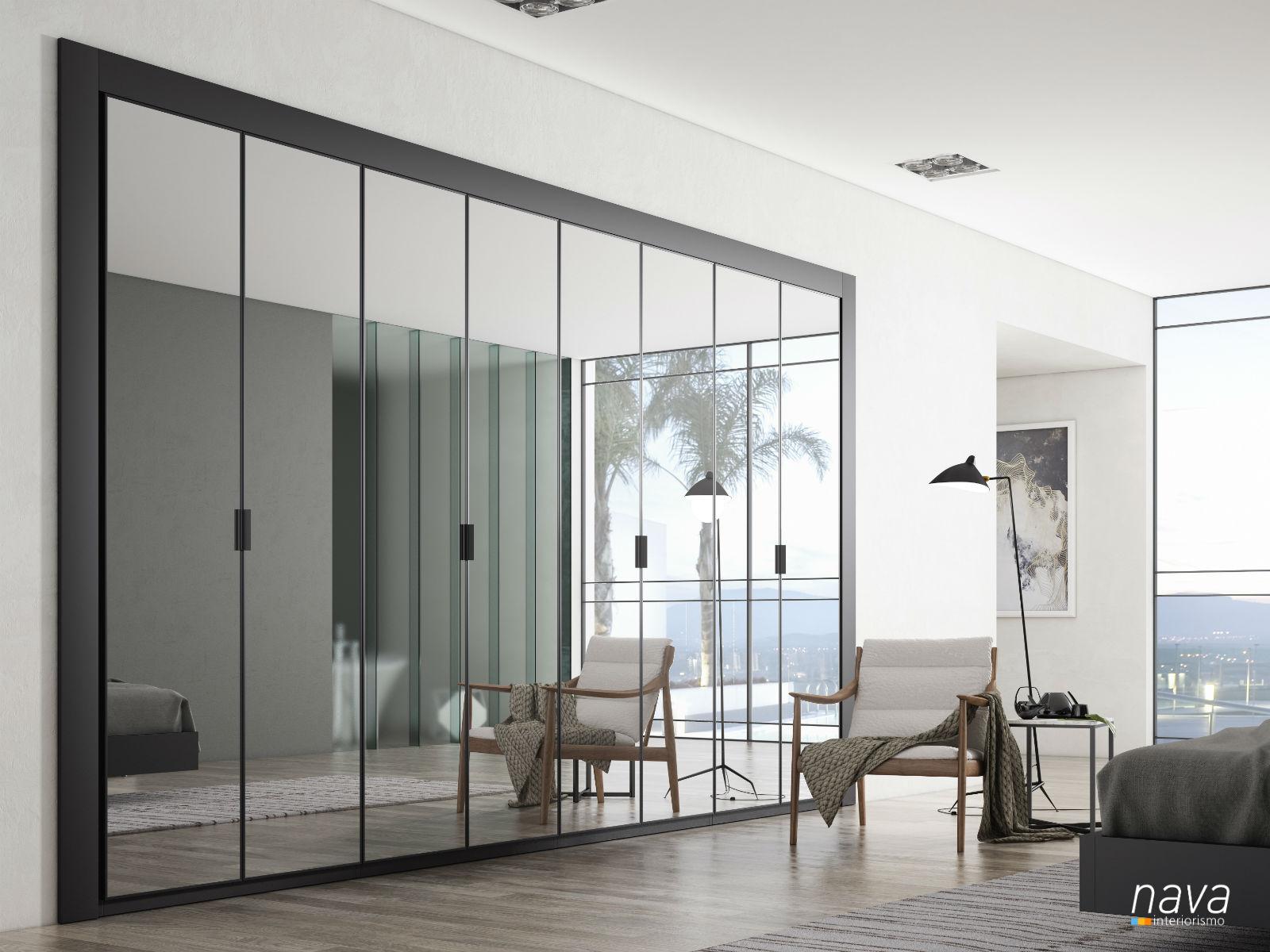 armario-puertas-batientes-espejo