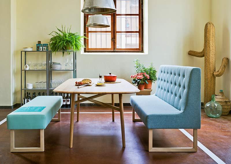 Bancada banco hogar interiorismo