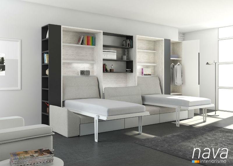 camas-abatibles-sofa-abiertas