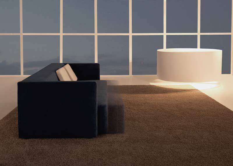Sofá cama dormitorio hogar interiorismo