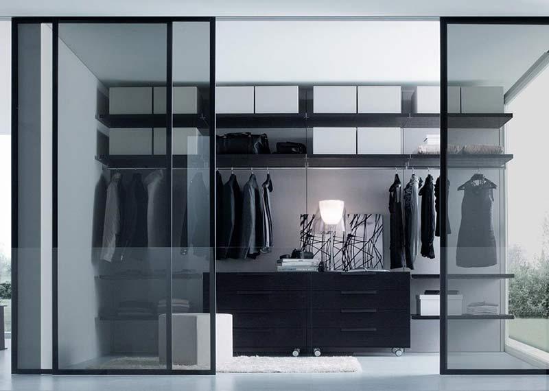 Vestidor armario dormitorio hogar interiorismo